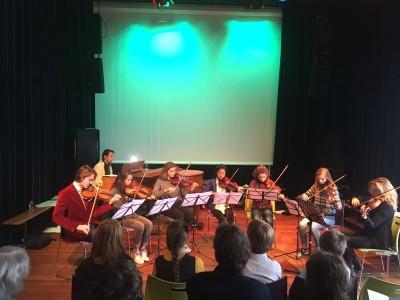 Winterconcert december 2017 in Theater Vrijburcht